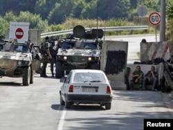 Granični prelaz Brnjak 26. jula 2011