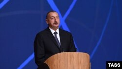 Azerbaijani President Ilham Aliyev made his remarks during the fifth News Agencies World Congress in Baku on November 17.