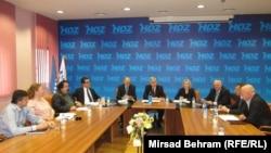 Predsjedništvo HNS-a, Mostar, 10. januar 2014.