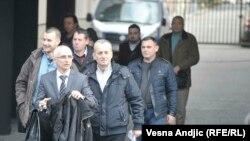 Pripadnici Žandarmerije kojima se sudilo u Beogradu