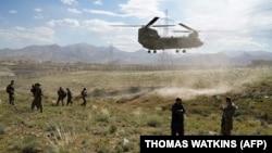 Војници на НАТО во Авгаснистан