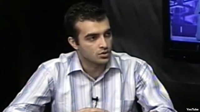 Azerbaijani activist Rasul Jafarov (file photo)