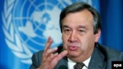 Антониу Гутериш, глава Комиссии ООН по делам беженцев