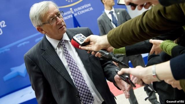 Eurogroup President Jean-Claude Juncker.