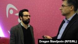 Igor Štiks: Skoro svaki drugi Austrijanac je glasao za neofašističku stranku (na slici: Igor Štiks u razgovoru sa novinarom i urednikom RSE Draganom Štavljaninom)