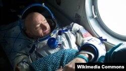 Америкалық астронавт Скотт Келли. Қостанай, 3 наурыз 2011 жыл.