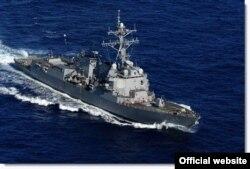 مقامهای آمریکایی به رویترز گفتهاند کروزها از ناو نیتز (در تصویر بالا) به سوای رادارها پرتاب شدهاند