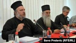 Sa okruglog stola o zakonu o slobodi vjeroispovijesti, Podgorica, 1. septembar 2015