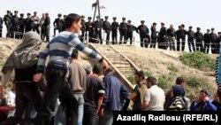 Sabirabadda aksiya. 10 aprel 2012 - Arxiv foto