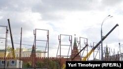 Строительство на Боровицкой площади приостановили сразу после увольнения Лужкова