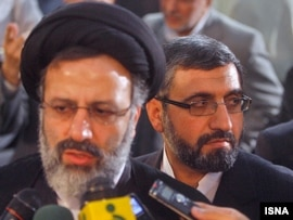 Ebrahim Raisi said the nine were linked to counterrevolutionary groups.