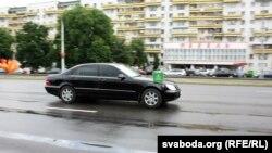 """""""Мэрсэдэс"""" патрыярха ў Берасьці"""