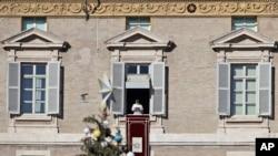 Papa Francis-in Vatikanda günorta çıxışı, 24 dekabr, 2017-ci il