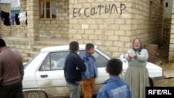 Kurdish immigrants in Baku (file photo)