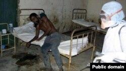 Один из госпиталей в Либерии