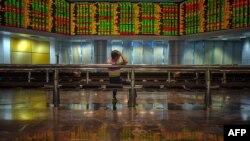 Табло біржі в Куала-Лумпурі, Малайзія, ілюстративне фото