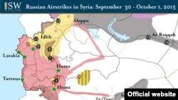 Орусиянын аба күчтөрүнүн Сириядагы сокку уруулары