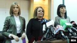 Maqedoni - Prokuroret Katica Janeva, Lence Ristevska dhe Fatime Fetai, 28 mars 2016