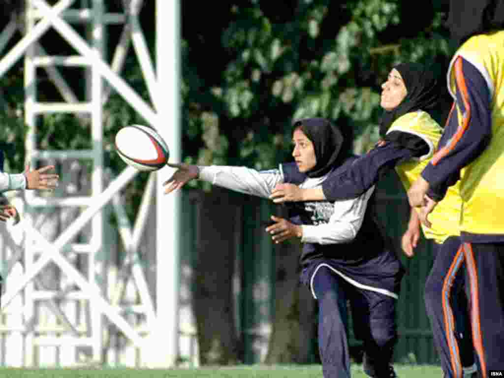 راگبی زنان در ایران - منبع: ایسنا