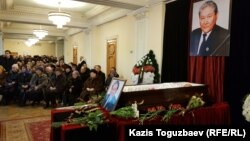 Абдилдин менен коштошуу зыйнаты, Алматы, 3-январь 2019-жыл.