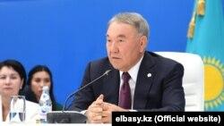Нурсултан Назарбаев на форуме «Нур Отана». 22 августа 2019 года.