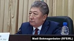 Мәжит Шайдаров, Астана медицина университетінің ректоры. Астана, 26 сәуір 2018 жыл.