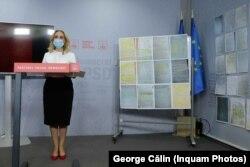 Scrisorile prezentate de PSD în timpul conferinței de presă