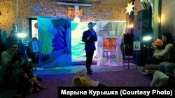Зьміцер Смаляк, адзін з арганізатараў вечарыны