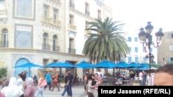 Pamje nga kryeqyteti Tuniz
