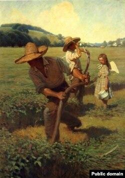 Ньюэл Конвэрс Ўает, «Касцы» (1908)
