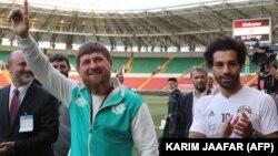 Мохаммед Салах и Рамзан Кадыров в Грозном