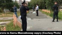 Нападение на людей в центре Сургута