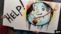 Sa prosvjeda protiv globalnog zatopljenja, Los Angeles