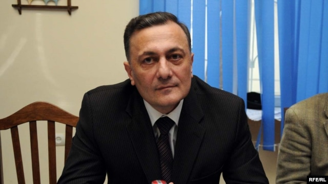 Georgian Labor Party leader Shalva Natelashvili