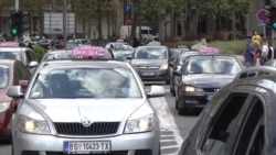 Taxi Protest Against Uber-Type Apps Snarls Belgrade Traffic