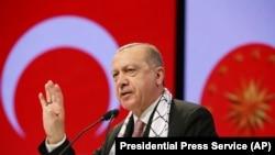 Recep Tayyip Erdogan, predsjednik Turske