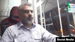 Rasoul Taleb Moghaddam is a member of tehran bus drivers' independent labor union. FILE PHOTO