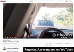 В'їзд до курортного селища Сєдове у Донецькій області, через декілька блокпостів бойовиків
