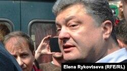 Петр Порошенко в Одессе 3 мая 2014 года