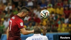Матч сборных США и Португалии