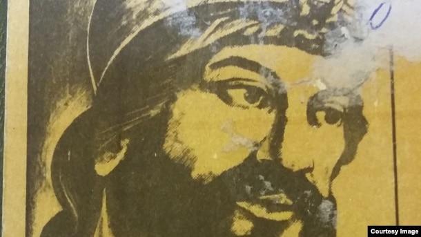 Babəkin 13-cü əsr miniatürü əsasında çəkilmiş şəkli.