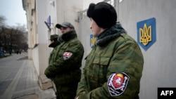 Članovi pro-ruske milicije na Krimu