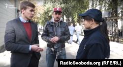 Експертиза військової прокуратури визнала тротуар перед ГУ СБУ у Києві непублічним місцем