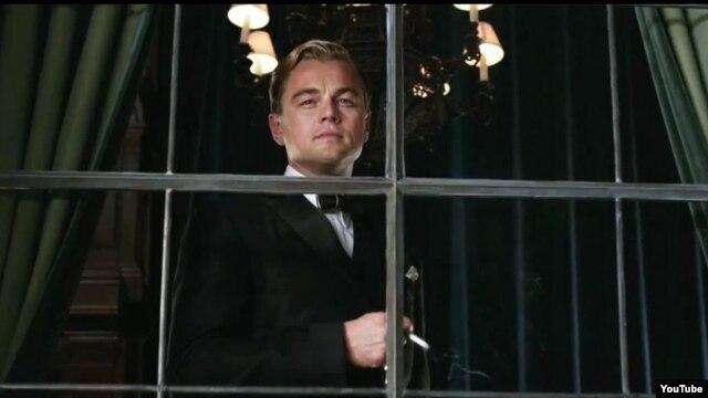 The Great Gatsby фильмінде ойнап тұрған актер Леонардо Ди Каприо. (Көрнекі сурет)