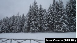 Bjelašnica pod snijegom, arhiv