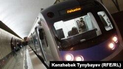 Алматы метросы. Алматы, 22 қазан 2011 жыл.