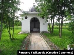 Каплиця над могилою українського гетьмана Петра Дорошенка. Село Ярополець, Московська область. Сучасний вигляд