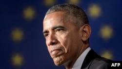 Барак Обама Афиныда, 16-ноябрь, 2016-жыл.