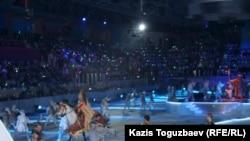 Открытие игр в Казахстане