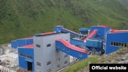 Тәжікстандағы алтын өңдейтін фабрика (Көрнекі сурет).